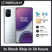 6.55 Oneplus 8t 5g Unlocked Cell Phone Dual Sim Android Smartphone 256gb+12gb