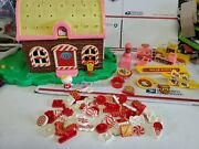 Rare 1976 Sanrio Hello Kitty Candy House Shop And 66 Accessories Htf Vtg Toy Toho