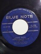 Jimmy Smith Midnight Special Part 1 And 2 Blue Note Classic Vinyl 45 Record