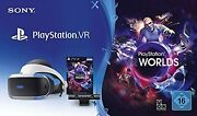 Playstation Vr Worlds Virtual Reality For Playstation 4 Ps4 Camera Headset Very