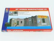 Ho 1/87 Scale Walthers Life-like 433-1337 Mt. Vernon Manufacturing Building Kit