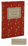 The Old-book Peddler Signed By Stefan Zweig Second Printing 1938
