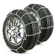 Titan Passenger Link Tire Chains Snow Or Ice Covered Road 5mm 225/70-15