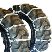 Titan Tractor Link Tire Chains Snow Ice Mud 10mm 13.9-36