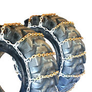 Titan Alloy Square Link Tire Chains Off Road 10mm 16.9-24