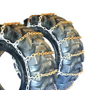 Titan Alloy Square Link Tire Chains Off Road 10mm 16.9-26