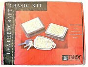 Tandy Leather Kit W/bsa Die /multiple Hammers /lace Rolls /lots Of Accessories