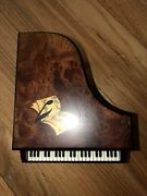 Reuge Music W.a.mozart Musical Jewelry Piano Box Playing