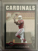 2004 Topps Black 360 Larry Fitzgerald Rc Rookie 150/150 1 Of 1