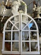 Old Spanish Arched Windows 53.5x48 Total Open