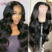 Long Body Wave Closure Wigs Natural Lace Wig With Pre-plucked Natural Hairline