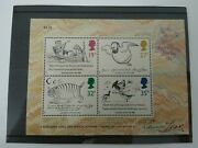 Stamps - Edward Lear - Second Series Of Minature Sheets