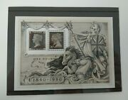 Stamps - Penny Black - Second Series Of Minature Sheets - 3 May 1990