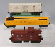 Lionel Vintage O Assorted Freight Cars 6457 356250 3462 [3]