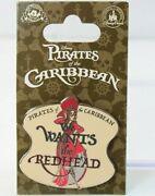 Disney Parks Pin Pirates Of The Caribbean We Wants The Redhead Redd