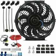 12 Inch 90w Electric Reversible Cooling Fan 12v Manual Toggle Wiring Switch Kit