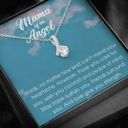 Mama Of An Angel Alluring Beauty Necklace Child Loss Gift Condolence Gift Baby L
