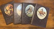 Lot 4 Time Life The Old West Series Women, Cowboys, Great Chiefs And Indians