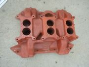 Mopar 413 440 Six Pack Intake Cast Iron Date 12-23-69 Used 2946276
