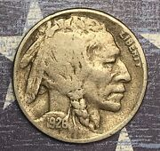 1926-d Buffalo Nickel Collector Coin For Your Collection.free Shipping