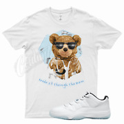 White Rain Ted T Shirt For Jordan 11 Low Legend Blue - Easter Concord Space Jam