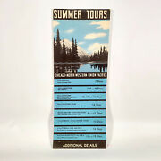 1930s Chicago And North Western And Union Pacific Railroad Tours West Railway Travel