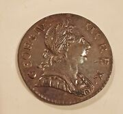 1773 Colonial British Imitation Halfpenny George Iii Choice About Uncirculated