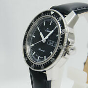 Auth Sinn Watch 104.st.sa Ss Russian Cow Leather Stainless Steel Sapphire Glass