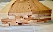 24 Long Box Of Cherry Scrap Boards Craft Wood