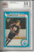 197980 Wayne Gretzky Rookie Card 18 Topps Rc Graded 5.5 Excellent+