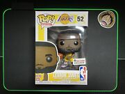 Funko Pop Sports. Lebron James 52 Foot Locker Exclusive With Protector.