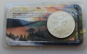 Littleton Genuine 2001 Uncirculated 1 Ozt 999 Silver 1 American Eagle Coin