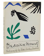 The Decisive Moment By Henry -bresson First Us Edition 1952 1st