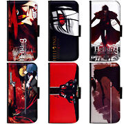 Pin-1 Anime Hellsing A Phone Wallet Flip Case Cover For Samsung S Note Series