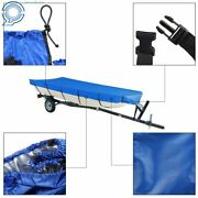 Blue 210d For Jon Boat Cover 12ft-18ft Lbeam Width Up To75inch