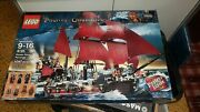 Lego Pirates Of The Caribbean Queen Anne's Revenge 4195 New In Open Box