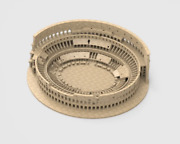 Roman Colosseum Completley Detailed See The World 3d Printed