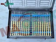 Neurosurgical Expanded Rhoton Micro Dissector Gold 20 Surgical Instruments Iso