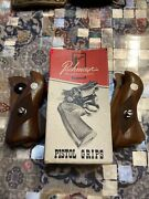Lot Of 2 Sets Pachmayr Ruger Presentation Pistol Grips Rss/c Small In Box