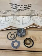 Omc 90 235hp 384386 Upper Gearcase Retainer Bushing Spacer Kit W/ Instructions