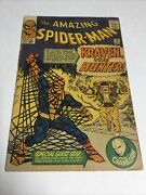 Amazing Spider-man 15 Vg Very Good 4.0 Glue On Back Cover First Kraven