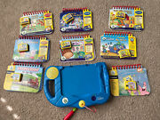 Leapfrog My First Leap Pad System W/ 8 Games And Books