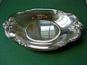 International Silver Company Orleans Roses Nut Candy Dish 8-1/2 X 5-1/2 448