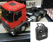 Tamiya Rc 1/14 Mercedes-benz Arocs 3363 Traktor Truck Red Assembled And Painted