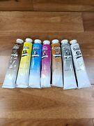 Winton Winsor And Newton Oil Color Paint 200 Ml Tubes Lot Of 7