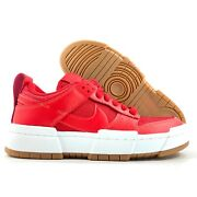 W Nike Dunk Low Disrupt University Red White Gum Sole Ck6654-600 Womenand039s 6.5-9.5