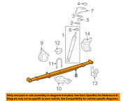 Toyota Oem 13-15 Tacoma Rear Suspension-leaf Spring Assembly Right 4821004660