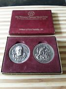 Wittnauer Precious Metals Sterling Silver Roosevelt's For Freedoms And Iwo Jima