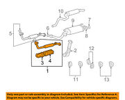Toyota Oem Exhaust System-front Pipe 1741050370