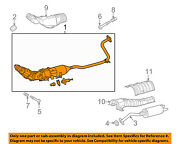 Toyota Oem 10-14 Prius 1.8l-l4 Exhaust System-front Pipe 1741037300